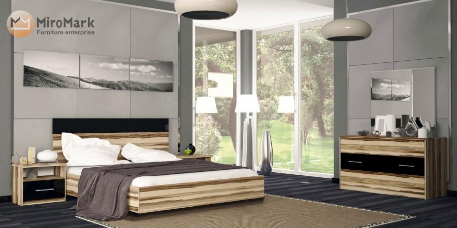 спальня соната миромарк цена купить в интернет магазине Roni во