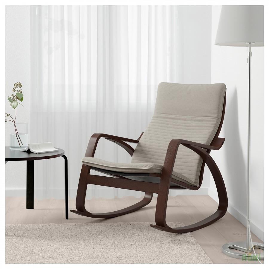 крісло гойдалка Poäng 392 415 55 Ikea