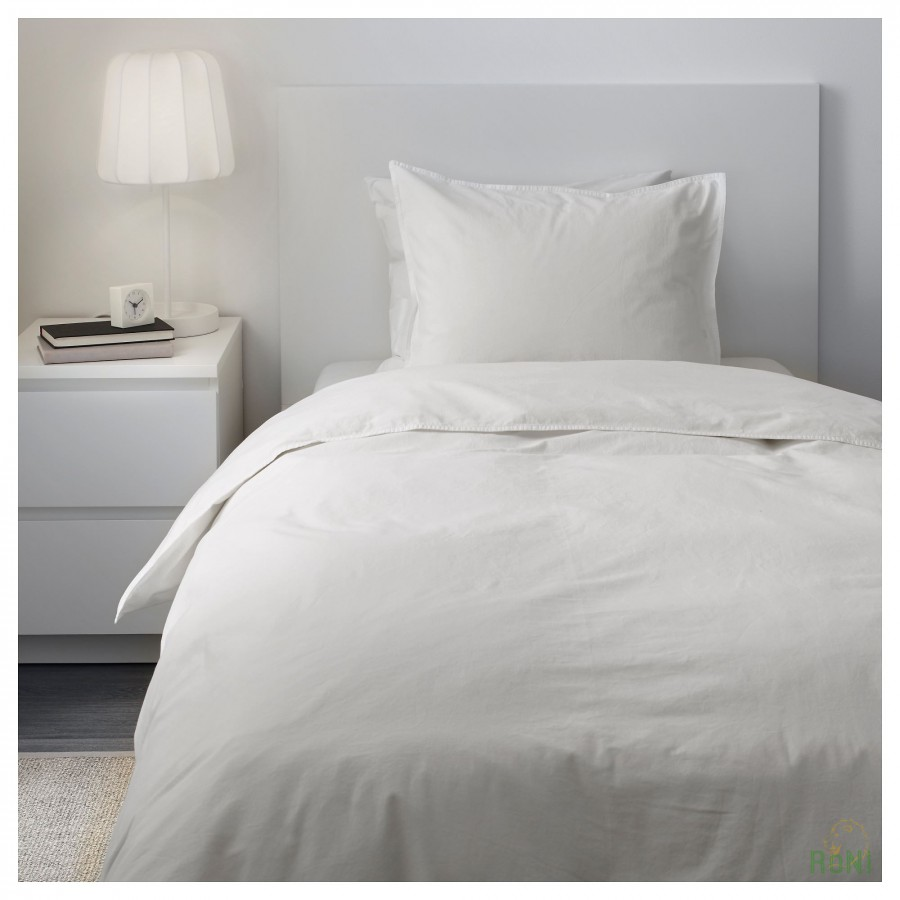 Комплект постільної білизни ÄNGSLILJA 903.185.46 білий 200 200 50 60 IKEA 660ac29653f89