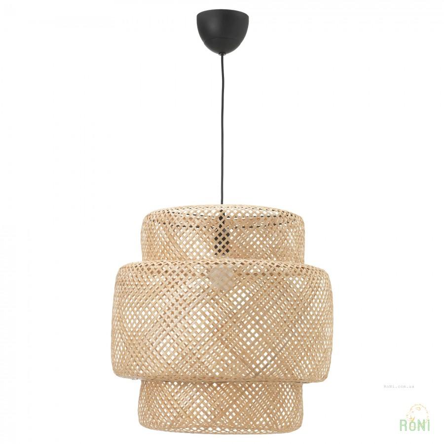 подвесной светильник бамбук Sinnerlig Ikea 70311697 цена купить в