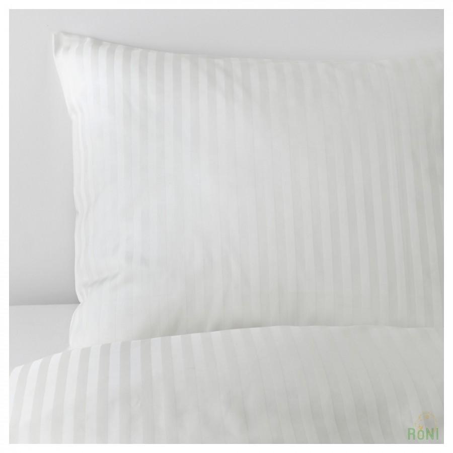 Комплект постільної білизни NATTJASMIN 603.371.60 білий 200 200 50 60 IKEA 66363561776cf