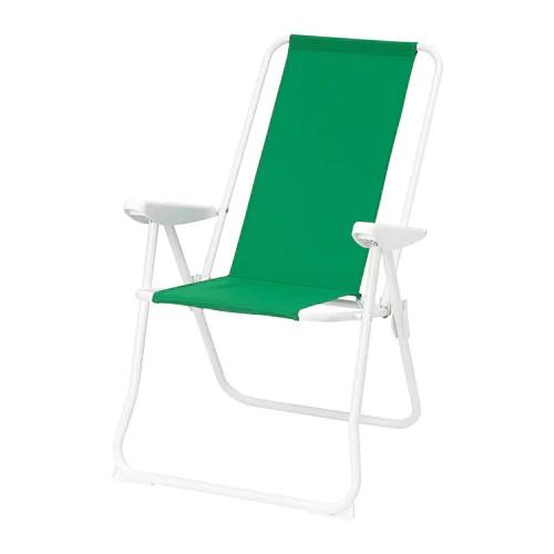 кресло пляжное Ikea Hаmo 50426784 зеленый цена купить в интернет