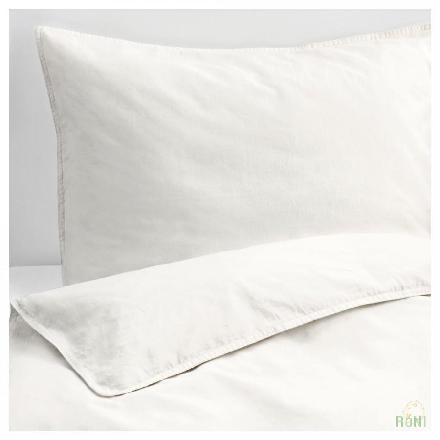 Комплект постільної білизни ÄNGSLILJA 403.185.63 білий 150 200 50 60 IKEA bd357fab721ba